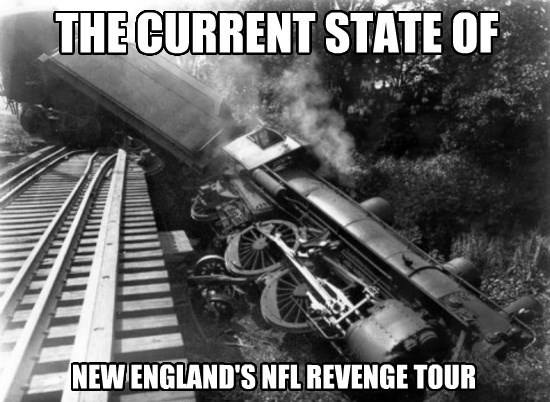 Revenge tour derailed