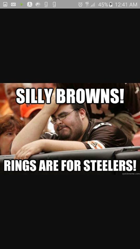 Rings are for Steelers