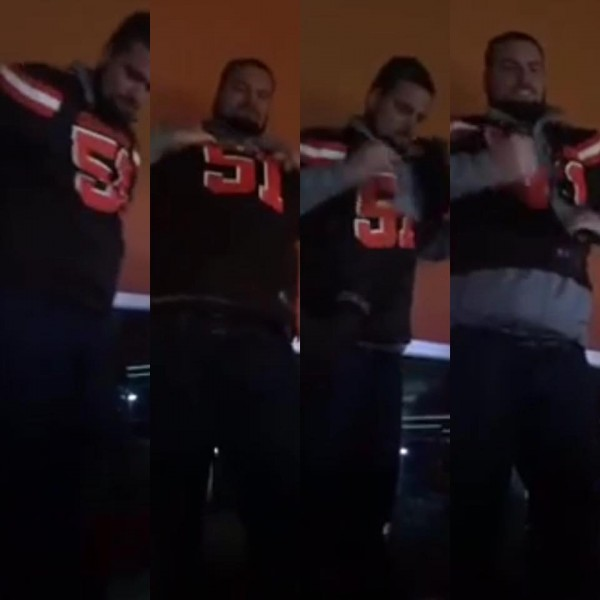 Ripping Jersey Browns Fan