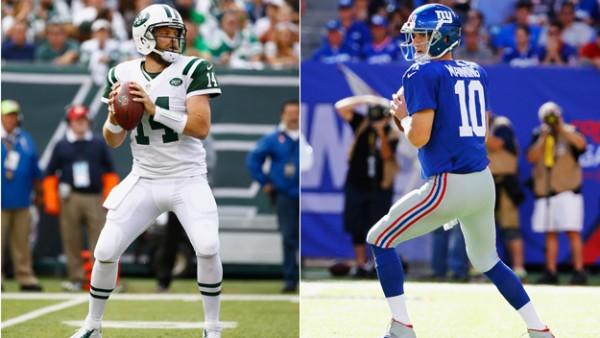 Ryan Fitzpatrick, Eli Manning