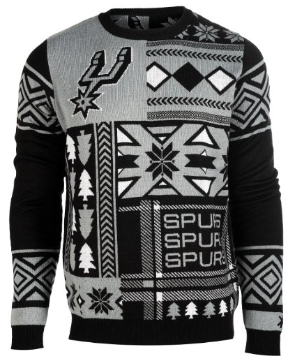 San Antonio Spurs ugly Christmas Sweater