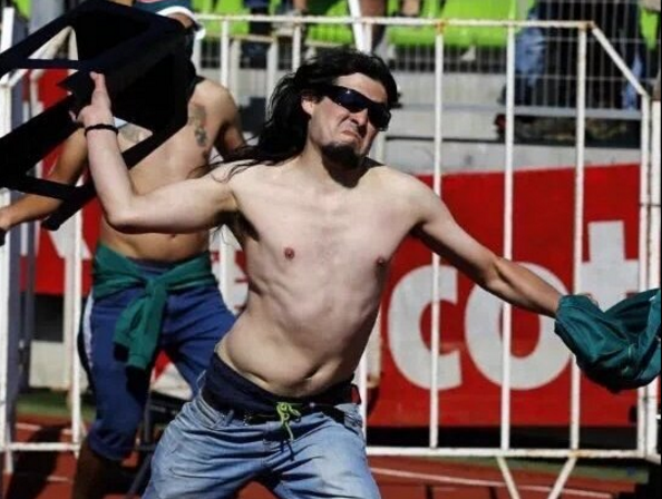 Santiago Wanderers Hooligan