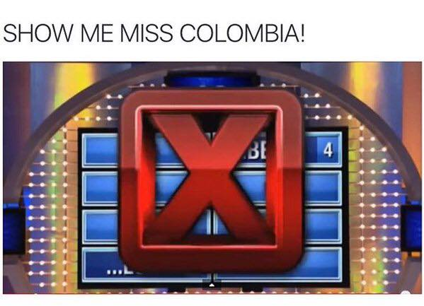 Show me miss Colombia