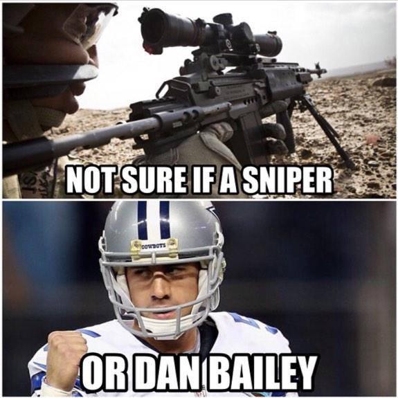 Sniper Dan Bailey