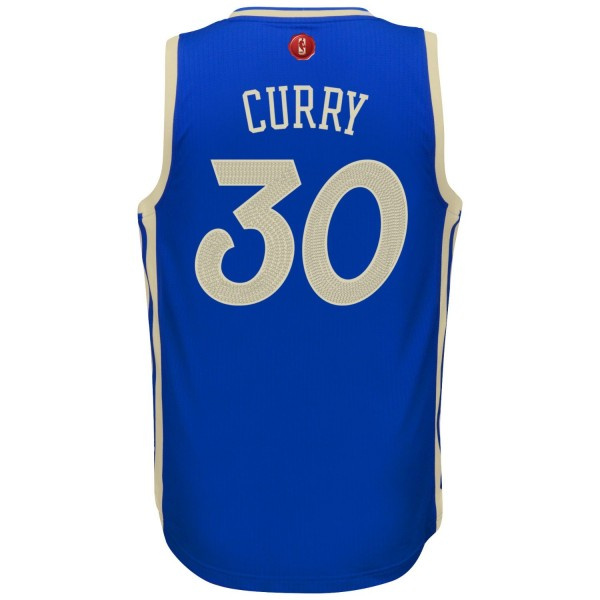 Stephen Curry Golden State Warriors Christmas Jersey