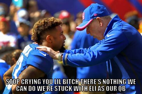 Stop crying, we're stuck with Eli
