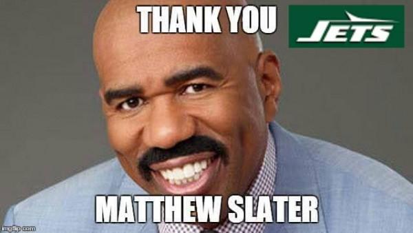 Thank you Matthew Slater