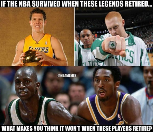 The NBA will survive