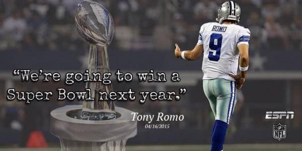 Tony Romo quote