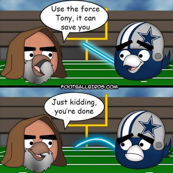 Use the force Tony