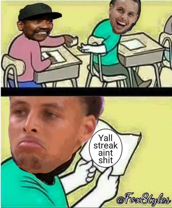 Ya'll Streak Ain't Shit
