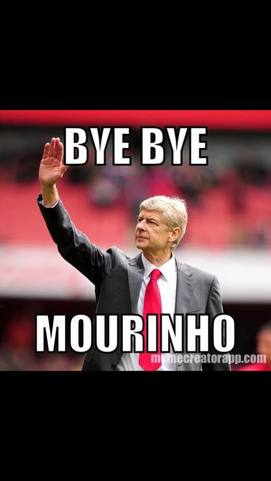bye Bye mourinho
