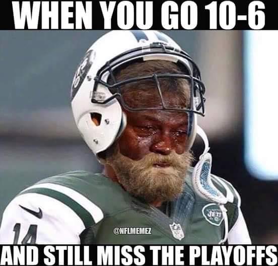 10-6 and still miss the playoffs