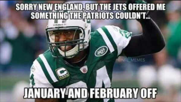 An offer Revis couldn't refuse