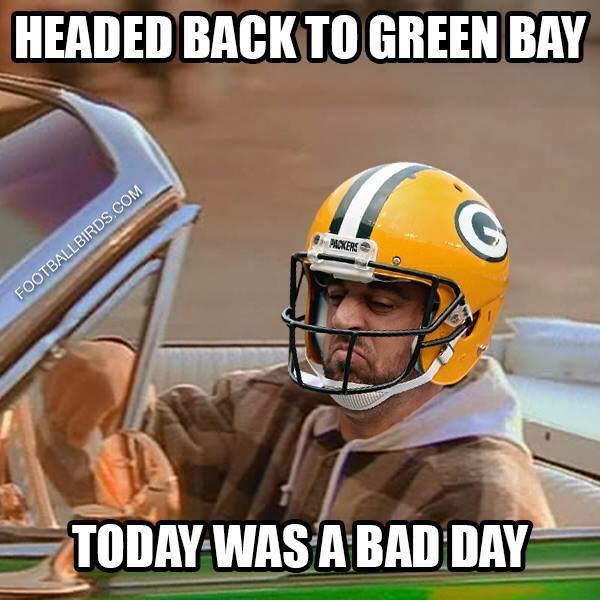 Bad Day for Rodgers