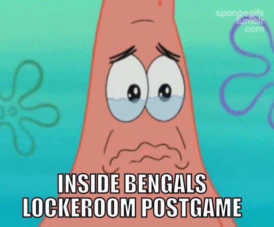 Bengals Locker Room postgame