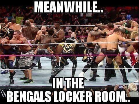 Bengals Locker Room