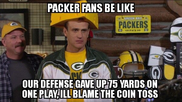 Blame the coin toss