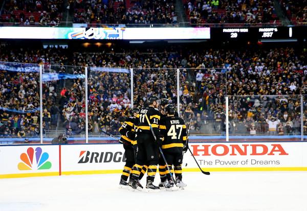 Boston Bruins Goal Winter Classic