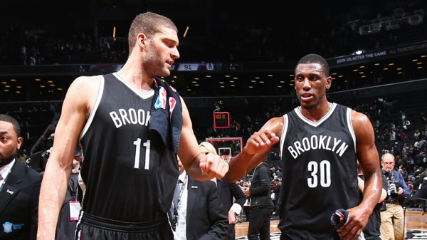 Brook Lopez, Thad Young