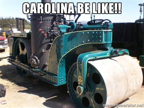 Carolina be like