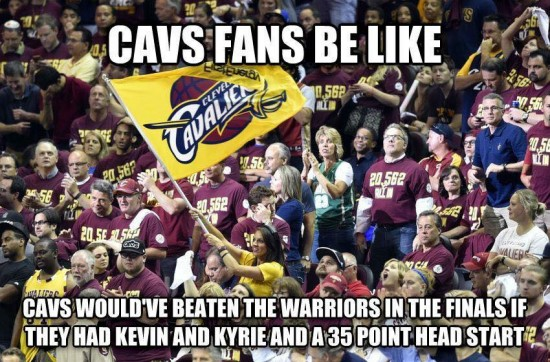 Cavs Nation Excuses
