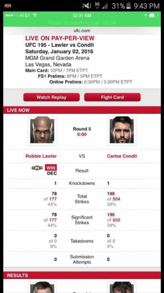 Condit Lawler Stats