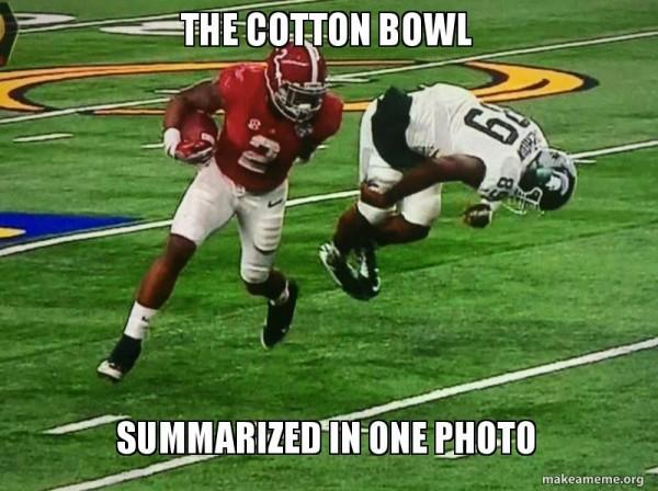 Cotton Bowl photo meme