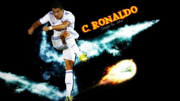 Cristiano Ronaldo Meteor Wallpaper