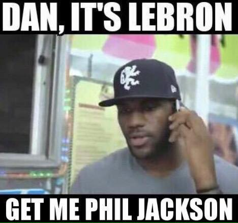 Get me Phil Jackson
