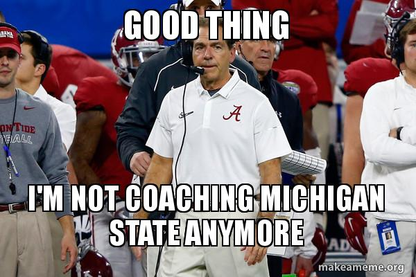 Happy Saban