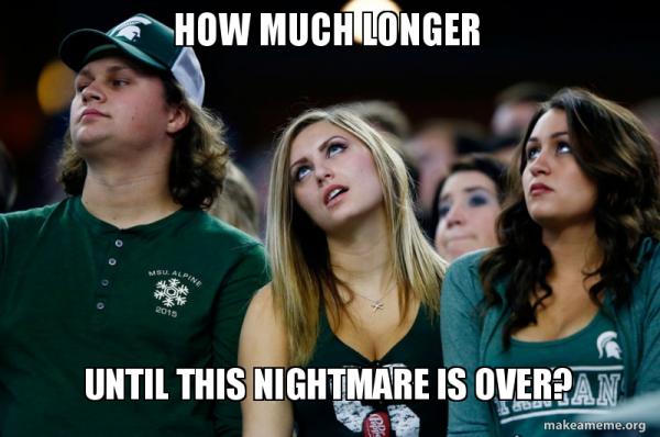 Hot Spartans fans meme