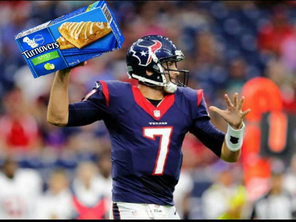 Hoyer throwing turnovers
