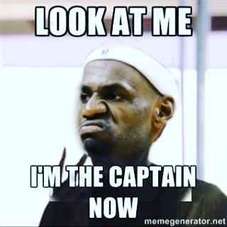 I'm the Captain Now