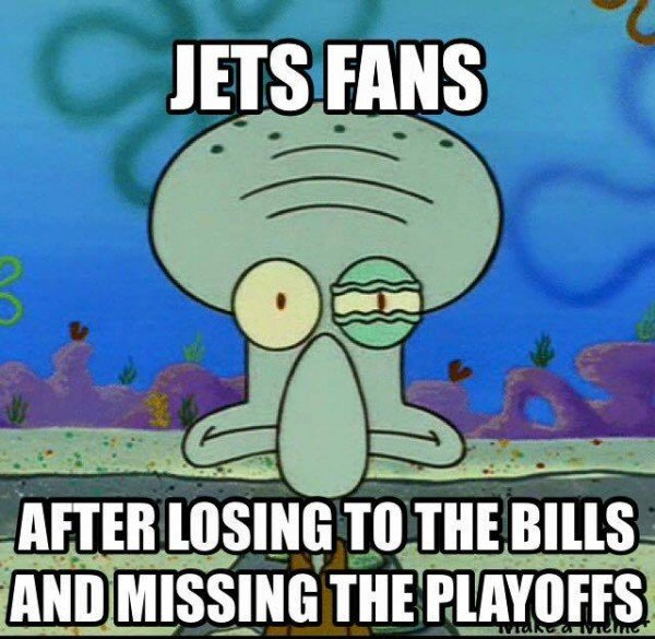 Jets Fans after missing playoffs