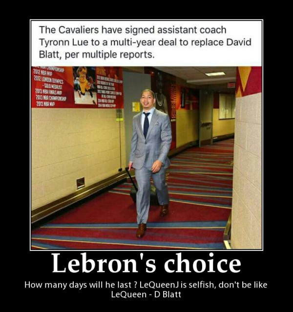 LeBron's Choice