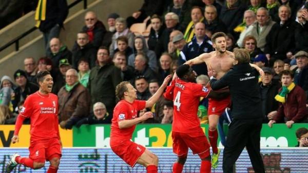 Liverpool celebrations