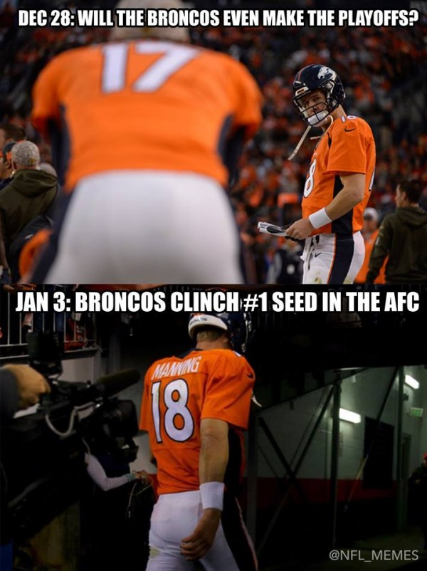 Manning Not Done