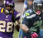 Marshawn Lynch, Adrian Peterson