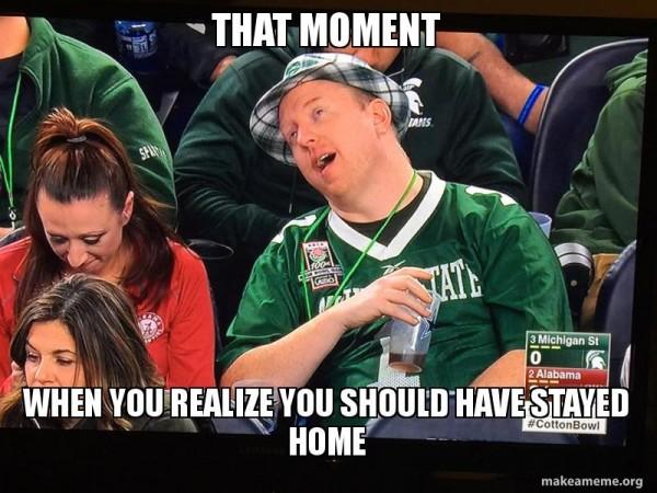 Michigan State fan meme