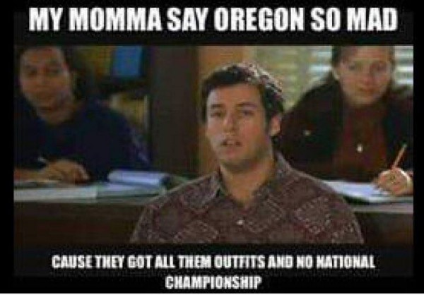 Oregon so Mad