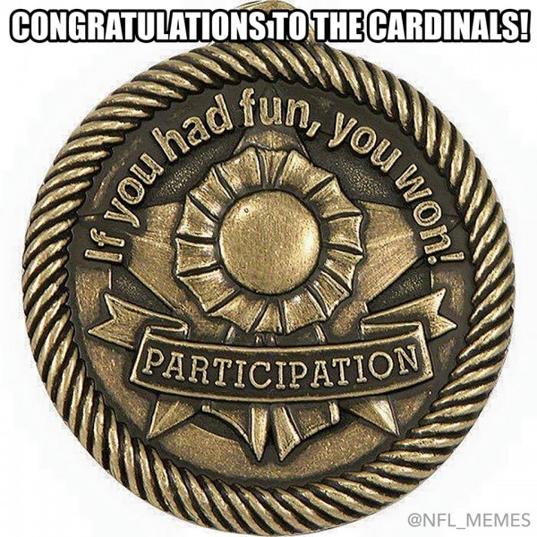 Participation medal Cardinals