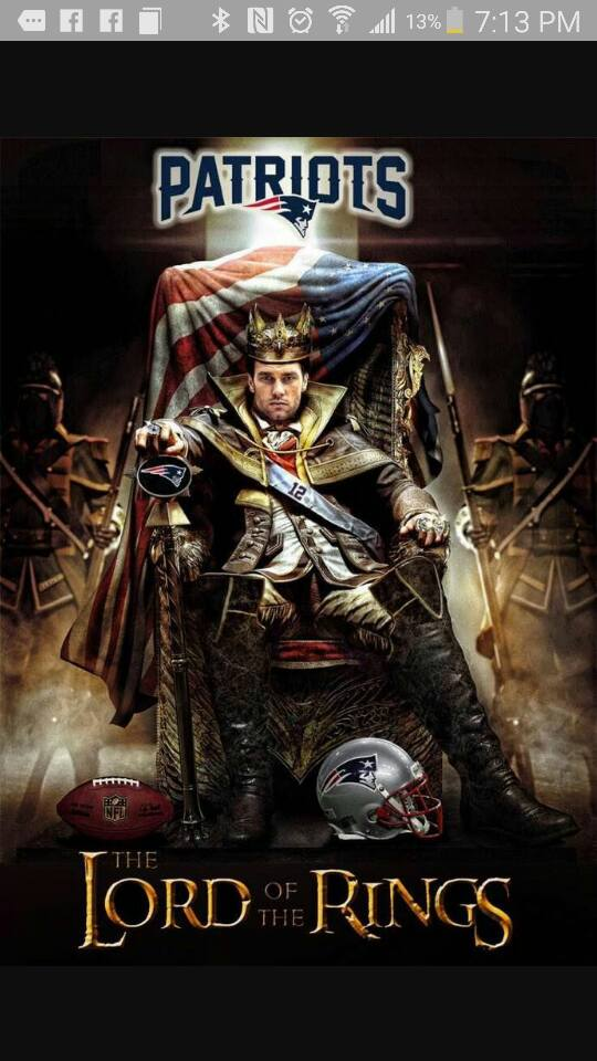 Patriots Lord of the Rings