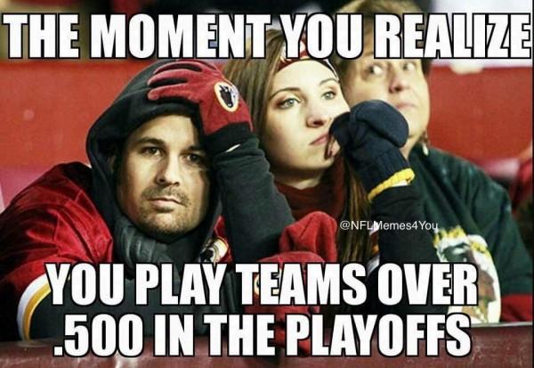 Playoffs are hard