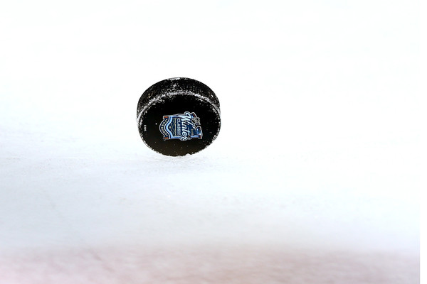 Puck on the Ice