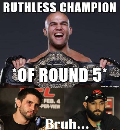 Round 5 champion