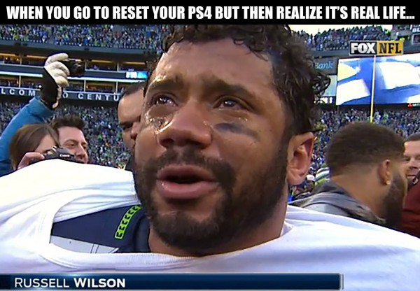 Russell Wilson Crying