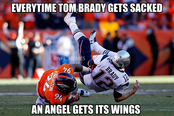 Sacking Brady