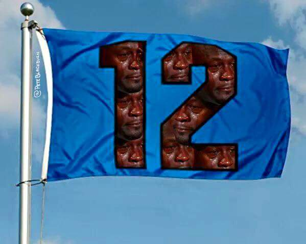 Sad 12th man