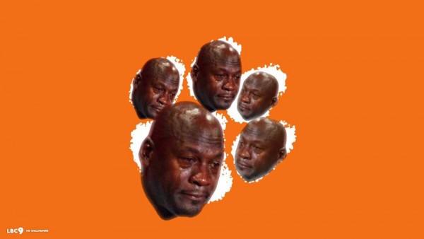 Sad Clemson Logo